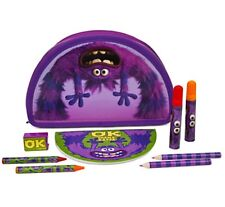 Disney Monsters University Childs Marker Pencil Crayon Drawing Pictures Art Kit