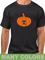 Pumpkin Pi T Shirt Math Geeks Funny Humor Halloween Tee Thanksgiving Pie T-Shirt