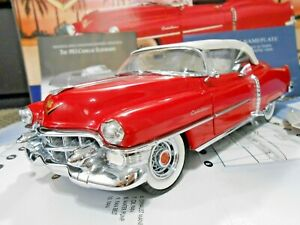 Franklin Mint 1:24 1953 Cadillac Eldorado Limited Edition Red W/ Papers!