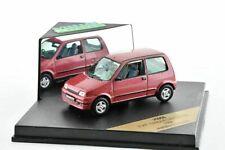 Fiat cinquecento sx 1996 metalie bordeaux speed v095b 1/43 500 metal
