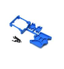 RPM81325 Blue ESC Cage Castle Sidewinder 4 Traxxas Stampede Slash 4×4