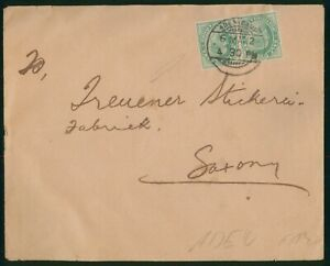 Mayfairstamps Aden 1912 Camp to Saxony Germany Cover wwo90479