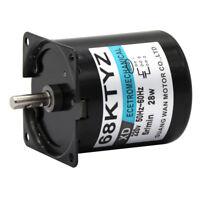 68KTYZ 2.5-110rpm/min Permanent Magnet Synchronous Gear Motor CW/CCW 220V 28W