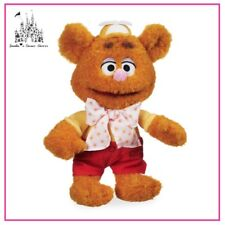 DISNEY THE MUPPET BABIES FOZZIE BEAR 33cm PLUSH TOY BRAND NEW WITH TAG