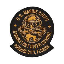 USMC Combatant Diver School Patch - Marine Reconnaissance - Special Forces SCUBA