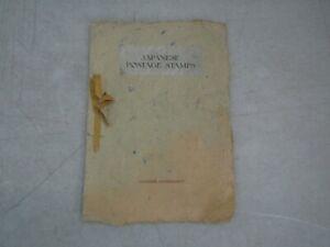 Nystamps Japan mint old official presentation stamp booklet Rare