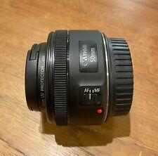New listing Canon Ef 50mm f/1.8 Stm Lens