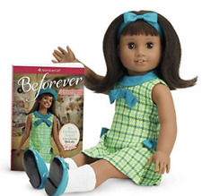 "American Girl Doll 18"" MELODY with Book Outfit Dark Skin Black Hair NEW in Box"