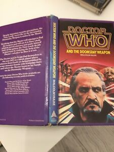 DR WHO THE DOOMSDAY WEAPON W H ALLEN HARDBACK