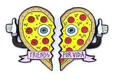 Vida Pizza Heart Pin Set Summer Por Vida Friends Por