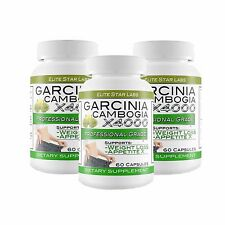 3  BOTTLES OF GARCINIA CAMBOGIA X4000 AT FACTORY DIRECT PRICING