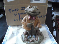 "Tom Clark Figurine Cairn Toad II Figurine Ed 69 Signed Box & COA 5 1/2"" Tall"