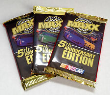 1992 MAXX 5TH Anniversary Edition Nascar Racing Cards ( 3 Pack Lot )