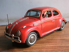 """Rare old vintage battery powered """"VOLKSWAGEN"""" tin toy car of 60's, made in Japa."""