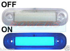 12V/24V SURFACE/BAR MOUNT BLUE LED MARKER LAMP / LIGHT TRUCK VAN LORRY KELSA BAR
