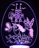 Princess Fairy Unicorn Castle Night Light Mood Lamp for Childrens Room NEW STYLE