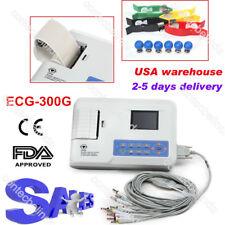 CONTEC 12 leads 3 Channel ECG/EKG Machine Digital Electrocardiograph,PC Software