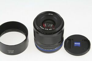 ZEISS Biogon T* Loxia 35mm f/2 (2/35) Lens for Sony Mirrorless Camera EXC COND!