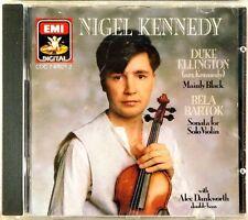 EMI Bartok Eillington KENNEDY Violin Sonata (CD 1986 W. GERMANY) CDC-7-47621-2