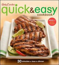 Quick and Easy Cookbook 30 Minutes or Less to Dinner by Betty Crocker