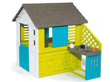 Smoby Pretty Kinder Gartenhaus / Spielhaus mit Sommerküche.