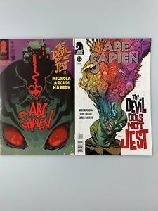 Abe Sapien: The Devil Does Not Jest #1-2 Full Set (2011) Dark Horse Comics