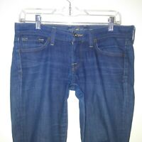 Lucky brand womens jeans size 2/26 Charlie skinny blue