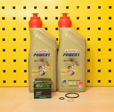 Hyosung RT RX SM GV GT GV XRX 125 250 Öl Ölfilter Castrol Power 1 10w40 Semi 4T