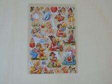 1x Poesiebilder Oblaten Kinder 018 Glanzbilder Baby Kleinkinder Spielzeug Wiege