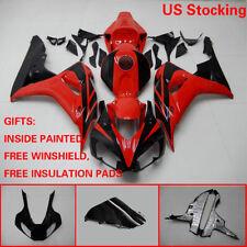 US Red Black ABS Fairing Bodywork Injection Kit For Honda CBR1000RR 2006 2007