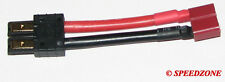 TRAXXAS MALE CONNECTOR TO DEAN FEMALE PLUG T-STYLE ADAPTER WIRE TRX FROM USA