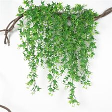 Artificial Green Vine Plants Wall Hanging Rattan Simulation Succulent Decor SK