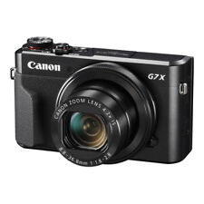 NEW Canon PowerShot G7 X Mark II 20.1MP Digital Compact Camera BLACK