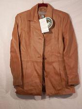 Jessica Holbrook Easy Care Genuine Leather jacket XS NWT