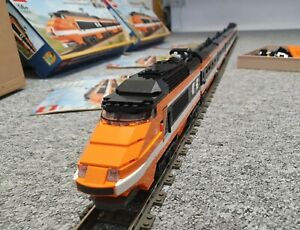 "2⅔ LEGO 10233 ""Horizon Express"" MOC inkl. OVP & div. Zubehör"