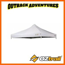 OZtrail Commercial White 3 X 3m Canopy Roof Deluxe Gazebo Replacement Cover Top