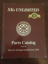 XKs UNLIMITED Parts Catalog Volume IX - Parts for all Jaguar models from 1948