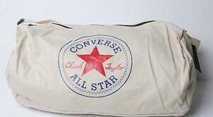 Converse Standard Duffel Poly Bag (White)