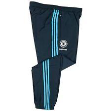 Adidas Chelsea FC men's blue football presentation pants 2014-15 Size XSmall