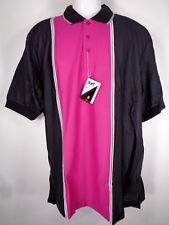 Vtg Wilson Staff Polo Shirt Size Large Golf Tennis Pink