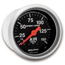 "AutoMeter 3320 Gauge, Air Press, 2 1/16"", 150psi, Mechanical, Sport-Comp"