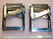 QTY (2) CCD2577-010010 HOSIDEN PCMCIA MEMORY CARD CONNECTORS