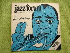JAZZ FORUM polish 78 LOUIS ARMSTRONG jazz in occupied france AEoCH adam makowicz