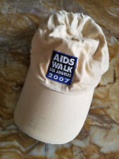 AIDS Walk Los Angeles 2007 Baseball Hat Cap Adjustable / Embroidered Patch