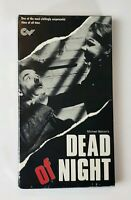NEW Dead Of Night VHS Congress Video 1989 OOP Horror Redgrave Balcon HTF SEALED