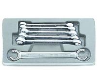 Offener Ringschlüssel Satz 6-tlg Bremsleitungsschlüssel 8-19 mm Set