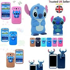 Stitch Children 3D kids protective Case Cartoon Cover For iPhone 4 4s 5 5s 6 6s
