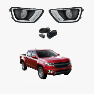 Fog Light Kit for Holden Colorado RG 12-16 US Model Only W/Wiring&Switch