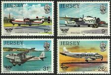 JERSEY AVIONS DE HAVILLAND HISTOIRE DE L' AVIATION AIRCRAFTS FLUGZEUGE **1984 6€