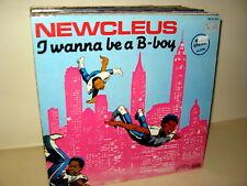 Newcleus - I Wanna Be A B-Boy GER 1982 MAXI Vinyl